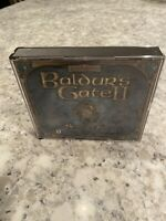 Baldur's Gate 2 II: Shadows of Amn (PC, 2000) 4 Disc Set Complete Works Tested