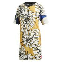 adidas ORIGINALS X FARM WOMEN'S GRAPHIC TEE DRESS FRUIT DEADSTOCK RARE CASUAL