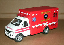 1/43 Scale Ambulance Diecast Model Vehicle  Fire Dept Paramedic Rescue Van Truck