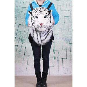 Tiger Head Bag Knapsack Lion Backpack  Backpack Tiger Head Bags Stylish
