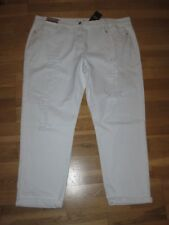 NEXT White Relaxed Boyfit Jeans Size 8 Regular Leg 30 With Tags
