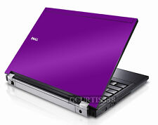 PURPLE Vinyl Lid Skin Cover Decal fits Dell Latitude E6400 Laptop