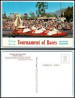 CALIFORNIA Postcard - Pasadena, Tournament Of Roses - Rose Bowl Parade G29
