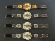 4 Never Openweight Custom Wrestling Figure Belts NJPW Action figure not included