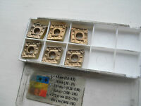 6 Seco carbide tips CNMM120412-R4 TP1000 ( CNMM120412 12 04 12 CNMM433 433