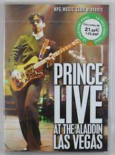 PRINCE LIVE AT THE ALADDIN LAS VEGAS ROCK POP R&B MUSIC DVD NEW REGION 2