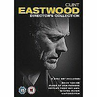 Clint Eastwood - The Director's Collection (DVD, 2010, 5-Disc Set) NEW & SEALED