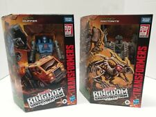 Lot (2) Huffer and ractonite generations war for cybertron kingdom transformers