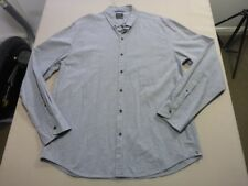 088 MENS NWOT INDUSTRIE GREY PATTERNED L/S SHIRT SZE XL $100 RRP.