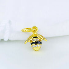 New Genuine Pandora Gold Shine Queen Bee Charm 367075EN16 925 Ale Gold-plated