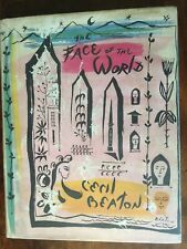 Cecil Beaton.  The Face of the World.  1957 First edition.