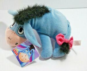 "Disney Plush Eeyore Soft Toy 2001 Mattel 9"""