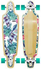 "Obfive Summer Vacay 38"" Drop Through Longboard Skateboard Complete"
