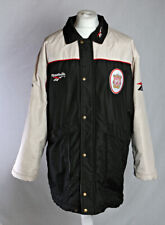 Reebok Liverpool FC Football 90's Bench Coat  Black White Size Large VGC!
