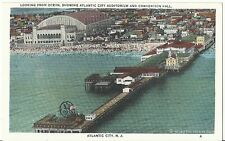 Org Vintage 1915-30 Atlantic City PC- General Electric- GE Pier- Convention Hall