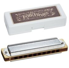 TOMBO Folk Blues Mark-II 10 holes Diatonic harmonica Blues Harp Key of E on Sale