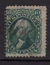 128a**USA-ETATS-UNIS (Timbre-Classic stamp) WASHINGTON 1868 United-STates