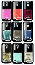 Cover per Samsung Galaxy S4 smalto per unghie con il tuo nome, scegli il colore!