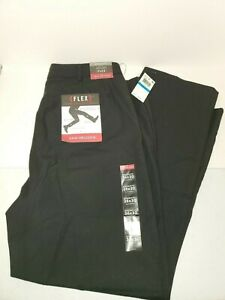 Van Heusen Men's Flex Straight Fit Flat Front Pants 36x30