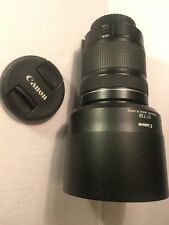 Canon 18-135mm F/3.5-5.6 IS STM EF-S Mount Lens For DSLR Cameras + ET-73B Hood
