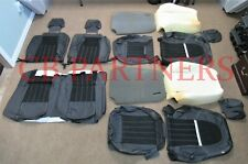 2012-2013 ROUSH NEW MUSTANG COUPE STAGE 3 BLACK LEATHER SEAT UPHOLSTERY SET