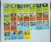 COMPLETE Common Set 25 POKEMON CARDS McDonalds 2021 Happy Meal 25th Anniversary