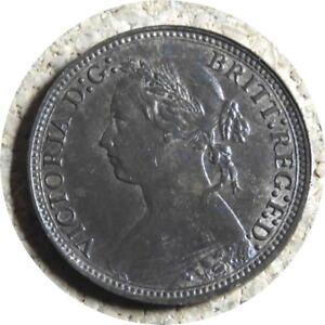 elf Great Britain Farthing 1878  Victoria