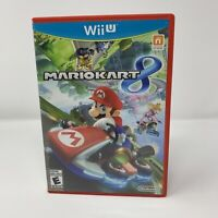 Mario Kart 8 Nintendo Wii U Game Complete With Manual Tested