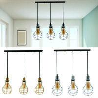 Modern ceiling pendant light lamp shade chandelier metal lampshade 3 head light