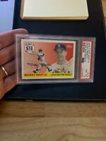 Mickey Mantle PSA 8 NM 2008 Topps #516 New York Yankees Collector Card GORGEOUS