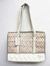 cinda b Market Tote Bag 148017 Scala Ivory New & Authentic