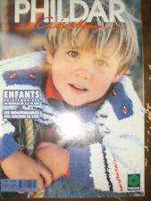 Phildar Créations N°261 Enfants Printemps Eté 1995 32 modèles 2 à 14 ans Tricot