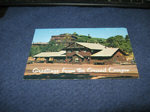 POST CARD unposted RAILROAD STATION AND EL TOVAR HOTEL, GRAND CANYON Az. LOT #79
