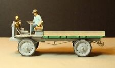 O/On3/On30 WISEMAN MODEL SERVICES T-201/203 NASH-QUAD FLAT BED TRUCK KIT