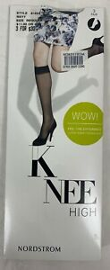 BRAND NEW NORDSTROM KNEE HIGH STYLE 8153A NAVY ~ D8