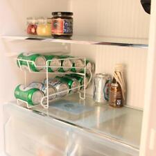 Can Beer Beverage Soda Dispenser Rack Holder Organize Storage Refrigerator Drink