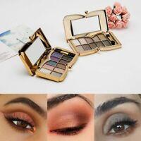 10 Colors Shimmer Glitter Eye Shadow Powder Palette Matte Eyeshadow Cosmetic Kit
