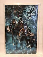 Kiss Zombies #2 1:10 Virgin Photo Variant 1st Print Dynamite Comics 2019