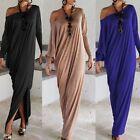 Casual Maxi Dress Long Dress Women Sexy Evening Cocktail Dress S-XL Plus Size