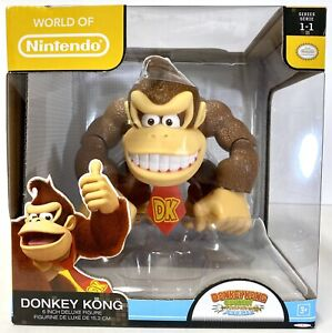 "World of Nintendo Series 1-1 Super Mario 6"" DONKEY KONG Tropical Freeze 2014"