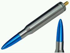 Gunmetal & Blue Short Bullet Antenna Ford F150 Raptor King Ranch Lariat Platinum