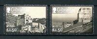 Gibraltar 2017 MNH Castles Europa 2v Set Architecture Stamps