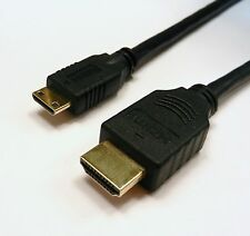 2 PACK 3 FT HDMI TO MINI - HDMI TYPE A TO TYPE C 1.3a CABLE FOR HD CAMCORDER TV