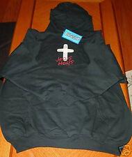JESUS HEALS Pullover Hoodie Sweatshirt SMALL Kerusso Christian Apparel