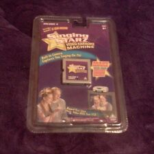 SINGING STARZ VIDEO KARAOKE MACHINE CARTRIDGE VOLUME 4 NEW