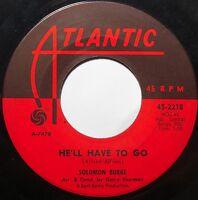 SOLOMON BURKE ~ ROCKIN' SOUL 45 awesome VG hear it! funk ATLANTIC 45