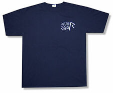 """RIHANNA """"LOCAL CREW ON BLUE"""" NVY T-SHIRT LAST GIRL ON EARTH TOUR NEW OFFICIAL XL"""