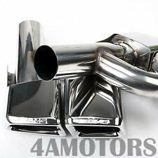 BENZ W212 NEW E-CLASS AMG E63 STYLE EXHAUST TIPS DUAL TIP E300 AF-0178