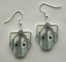 From The  BBC TV Show Dr Who Cybermen  Earings