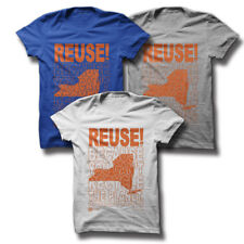 REUSE! Because You Can't Recycle The Planet New York T-shirt Youth S White Eco